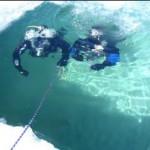 plongée sous glace doze