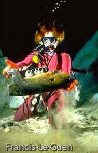 wakulla-springs Floride mastodonte plongée spéléo
