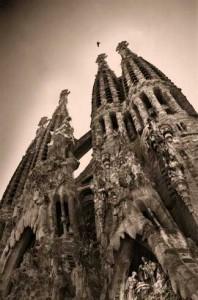 sagrada familia Gaudi Barcelone