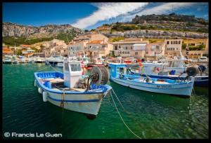 Le port de la Madrague de Montredon