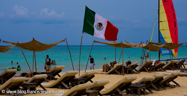 Playa del Carmen au Mexique