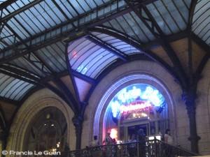 Gare de Lyon train bleu