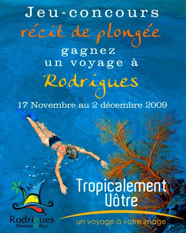 Gagnez le voyage à Rodrigues !