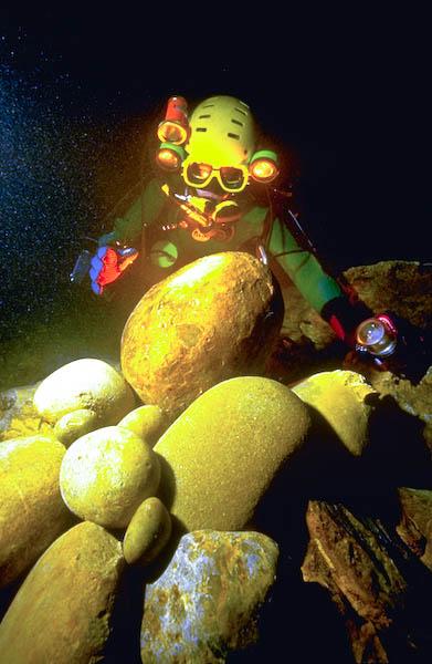 Plongée extrême à la Mescla