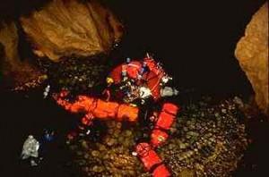 grotte de la mescla plongée souterraine Francis Le Guen