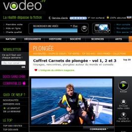 Carnets de Plongée en VOD