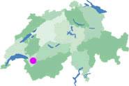 carte suisse station Les Mosses