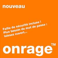 Orange O desespoir…