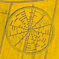 Les agroglyphes : fractales extraterrestres ?