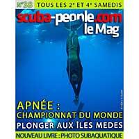 Scuba People le Mag n° 38 en ligne !