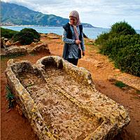 Algérie : les thermes romains de Tipaza