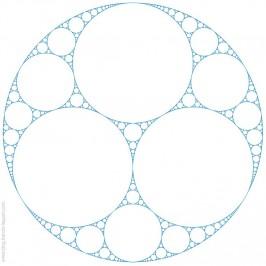Les fractales apolloniennes