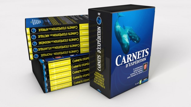Carnets-Expedition coffret DVDs