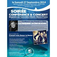 Lyon : conférence sur les requins