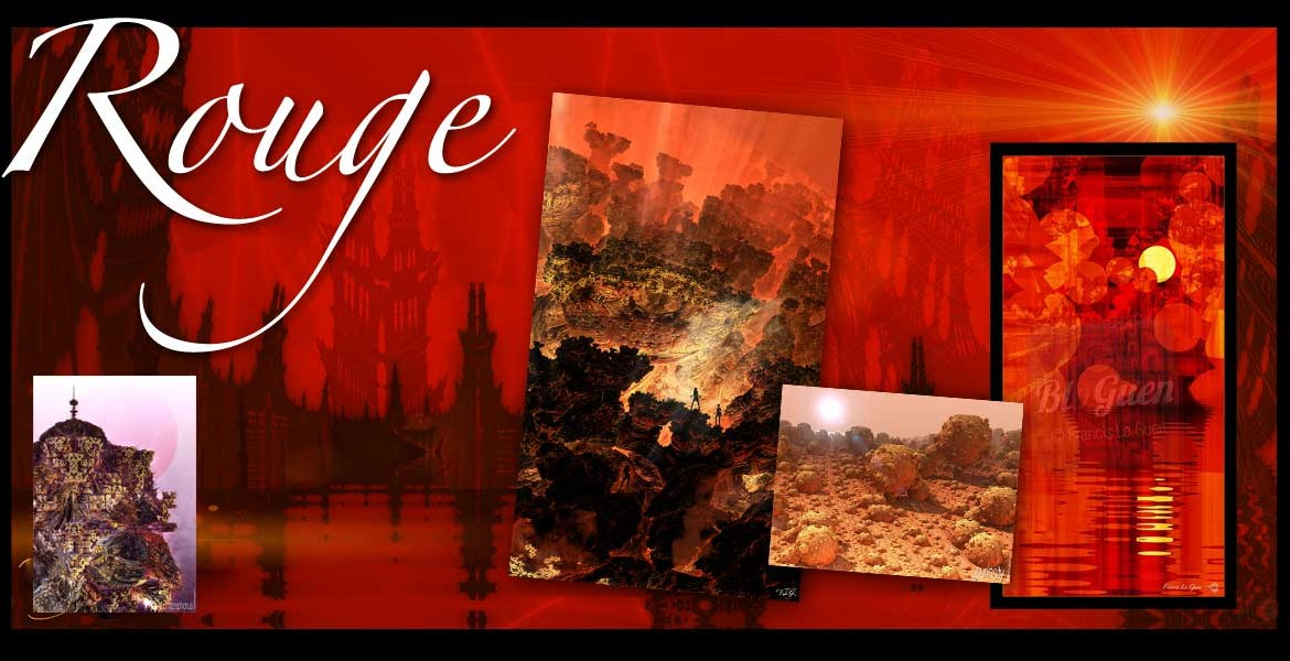 Boutique : collection Rouge