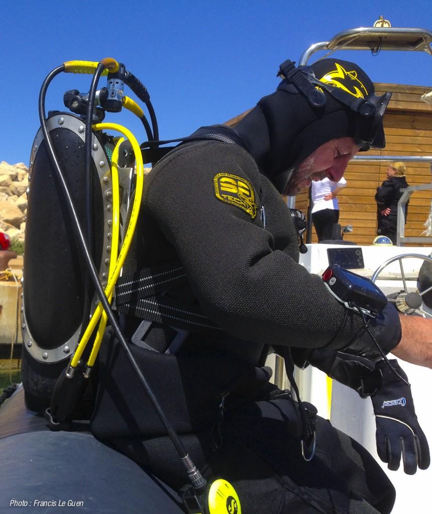 Marc Langleur teste le Diodon
