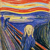 Fractales : les couleurs d'Edvard Munch