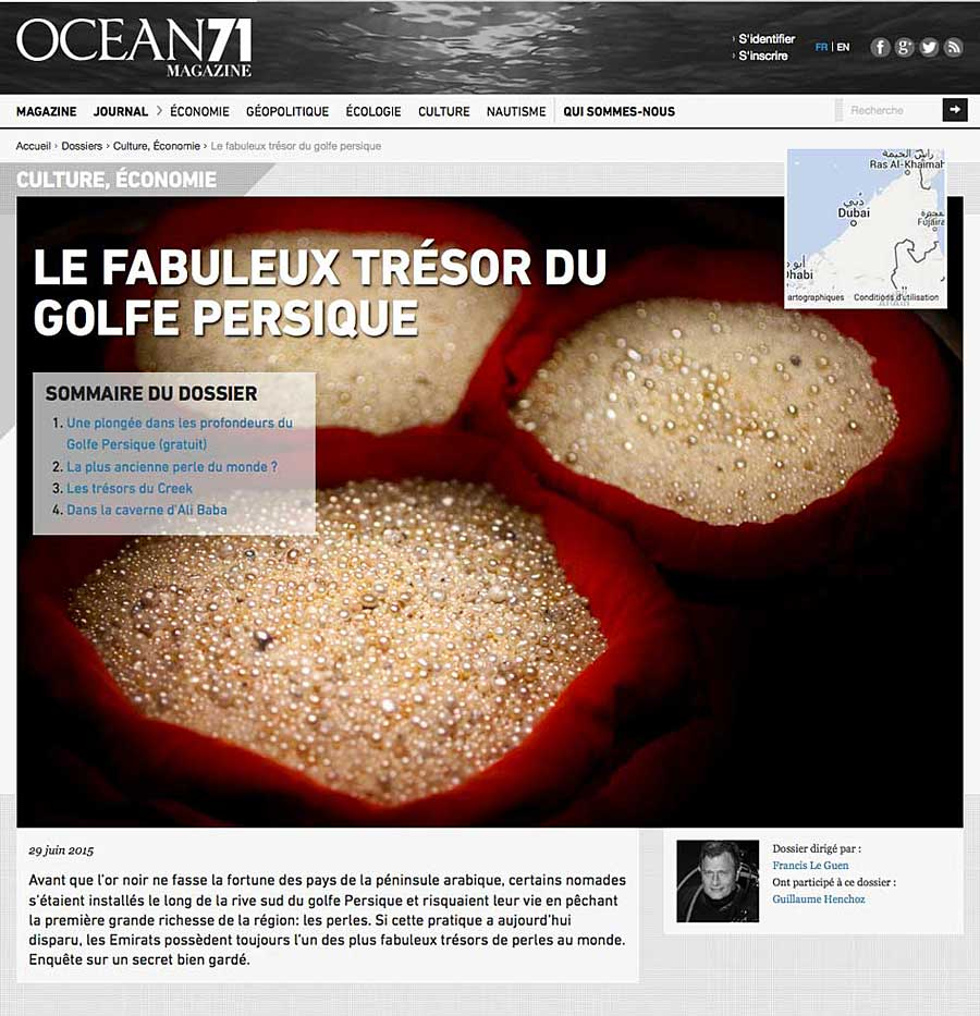 Ocean71-perles de Dubaï