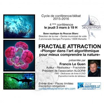 Conférence fractale à Marseille