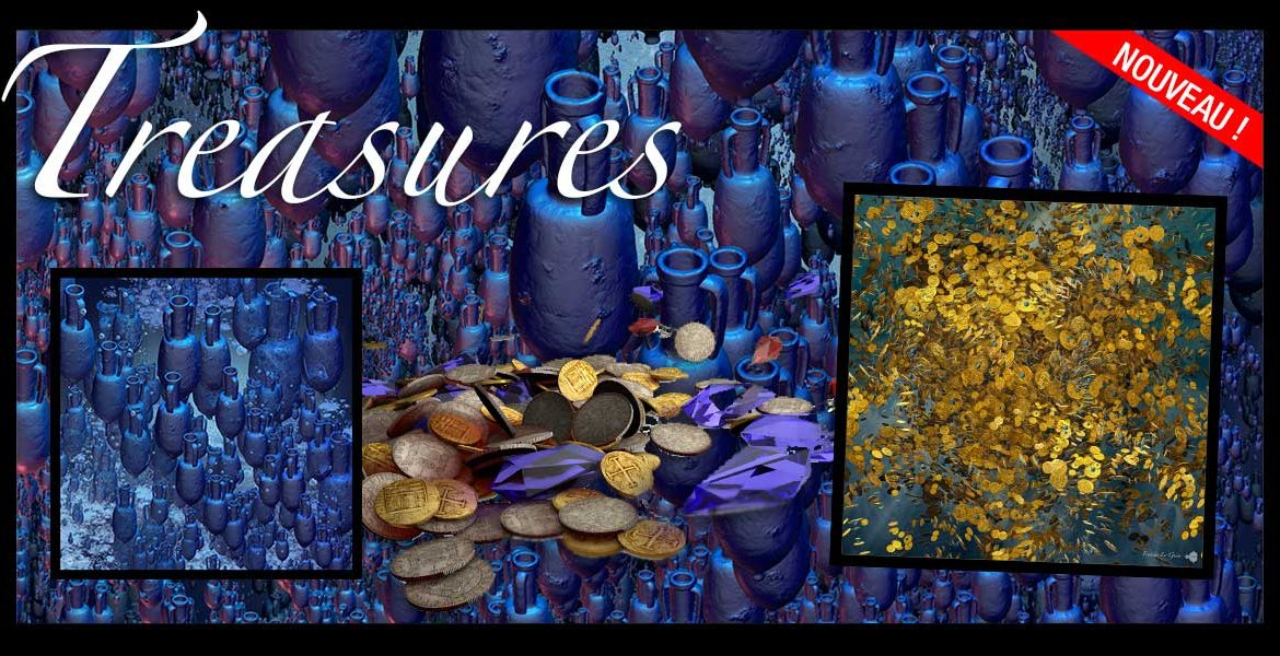 Boutique : collection Treasures