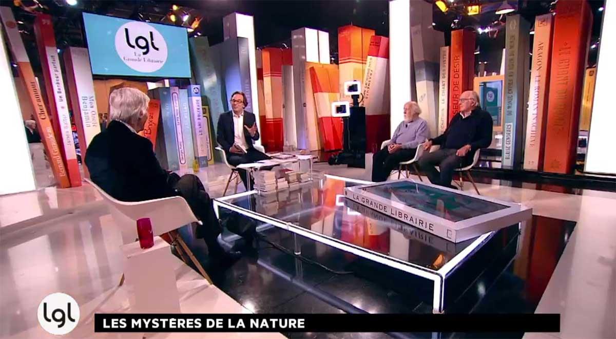 France 5 – La grande librairie – jeudi 24 novembre à 20h45 : les mystères de la nature