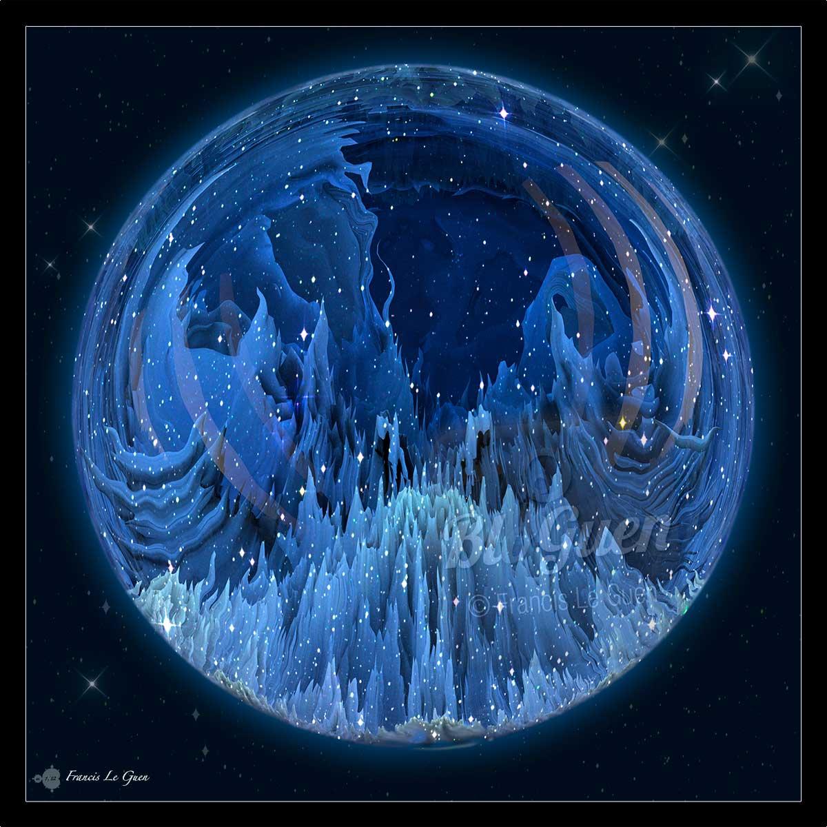 Fractales : de glace, d'eau et de terre